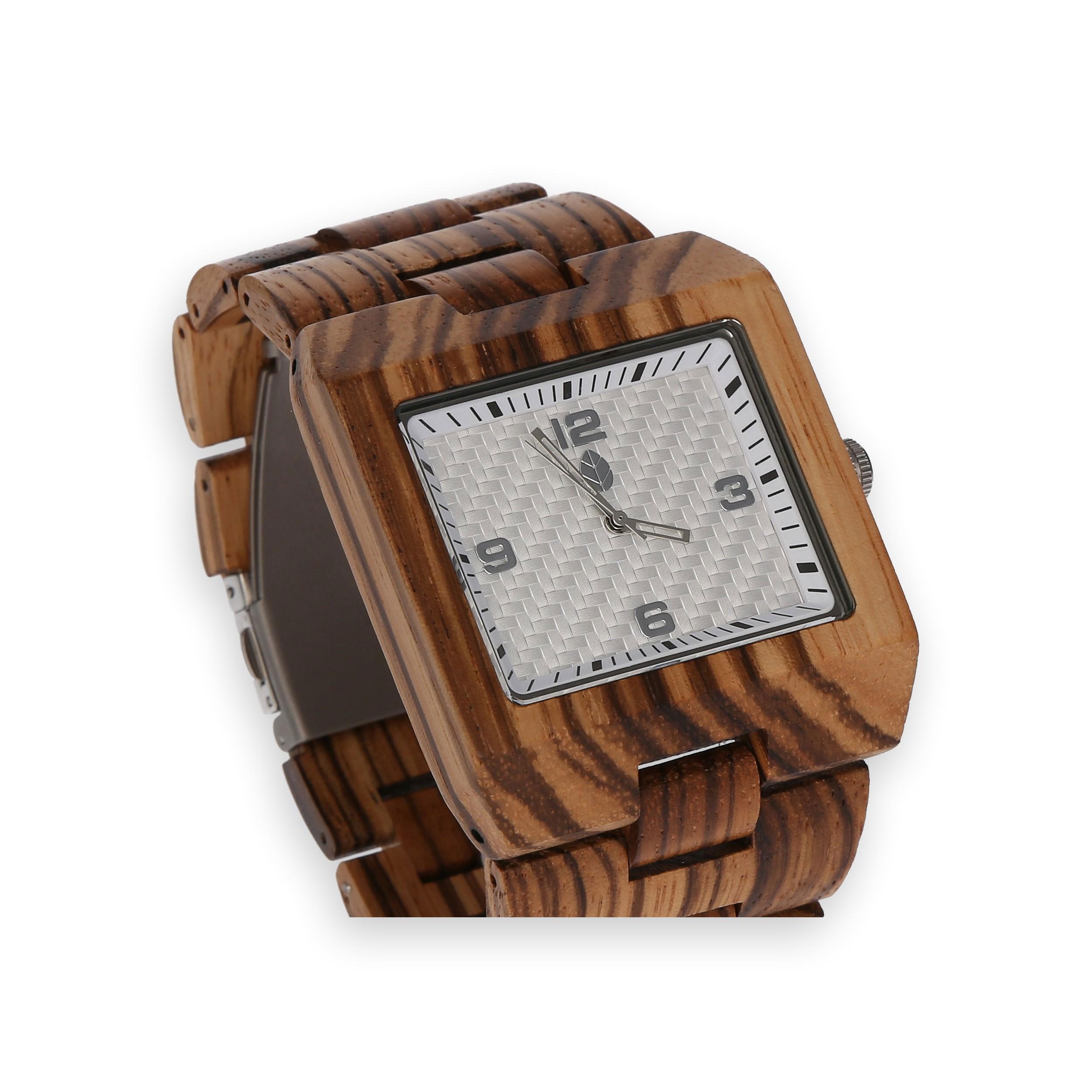 Produktová fotografie - dřevěné hodinky - MacGregor & Company s.r.o.